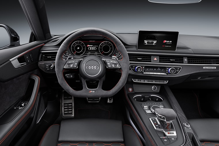 The interior is up to Audi's usual class-leading standards.