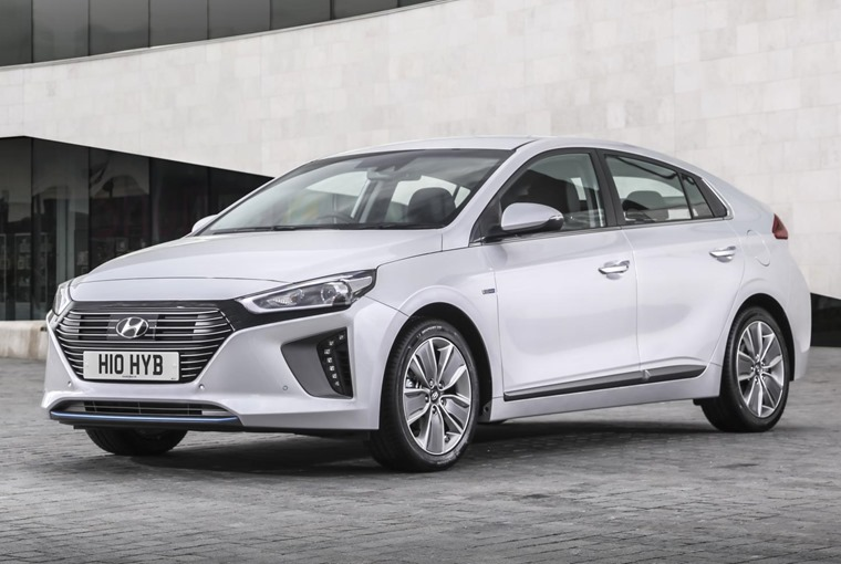Hyundai Ioniq – one of the best hybrids on offer for less than £250 per month.