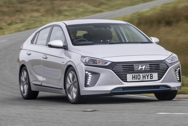 AFVs like the Ioniq saw record growth, ahead of the April VED changes.