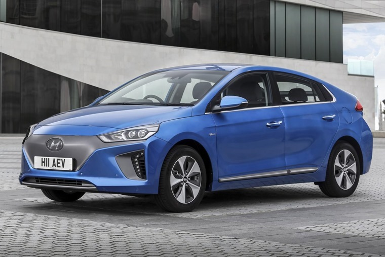 Hyundai Ioniq - a clean, affordable lease