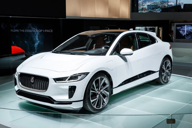 All-electric Jaguar I-Pace makes debut at Geneva Motor Show
