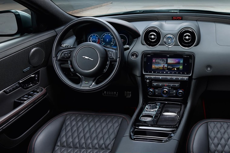 Jaguar has enhanced infotainment and safety features on the new model too.