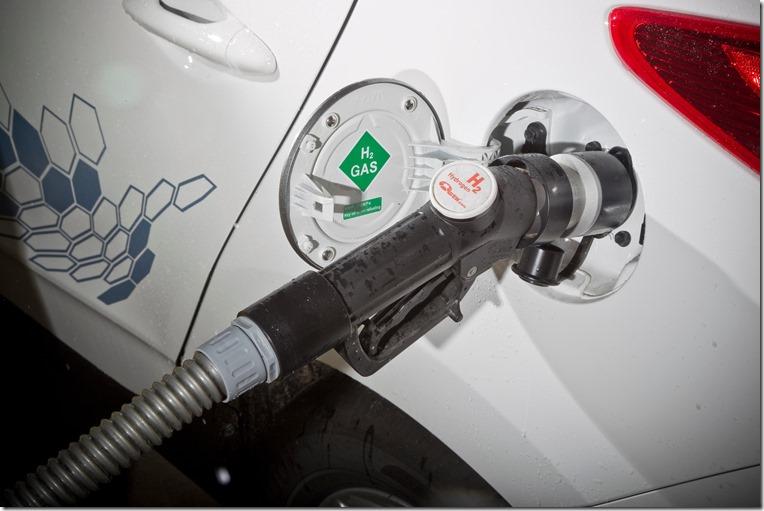 ix35 Fuel Cell hydrogen refill
