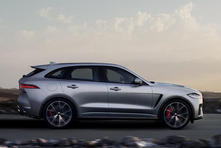 Jaguar F-Pace side