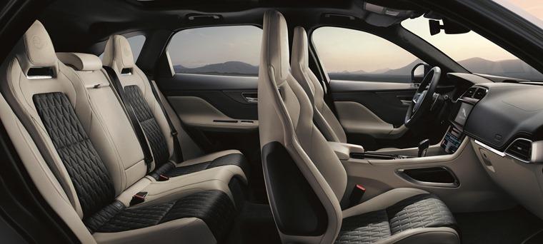 Jaguar F-Pace interior