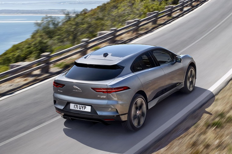 Elsewhere, we also took the all-electric Jaguar I-Pace for a spin