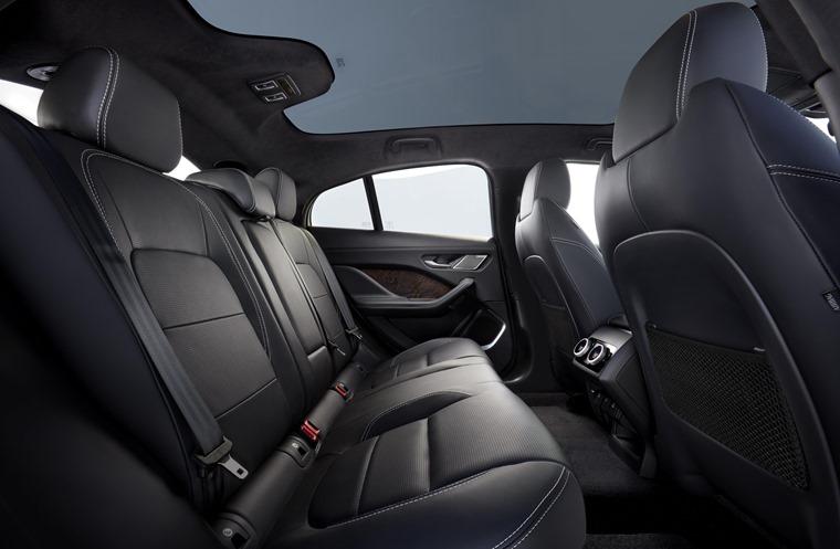 Jaguar rear seats