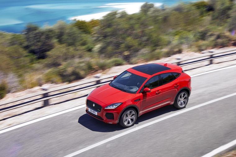 Jaguar E-Pace side