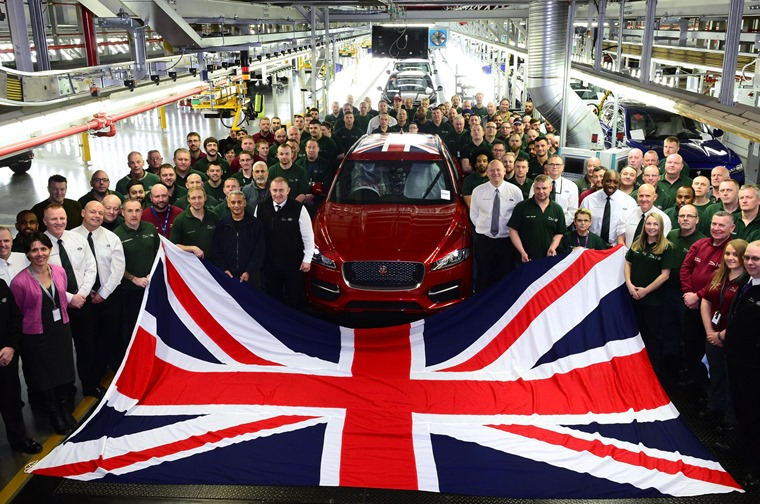 Number One: Jaguar Land Rover is named the UK's largest automotive manufacturer
