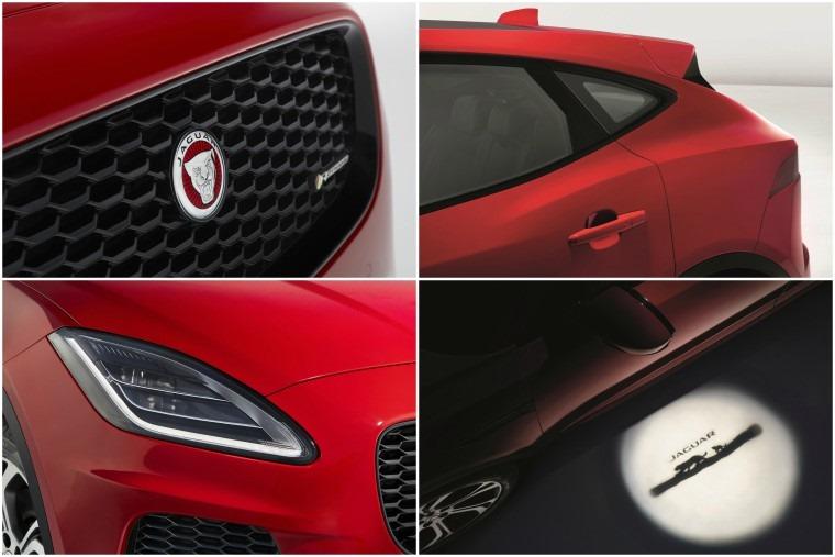 Jaguar E-Pace collage