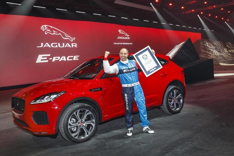 Jaguar E-Pace world record