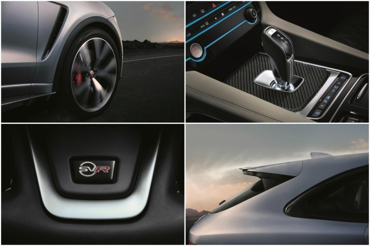 Jaguar F-Pace SVR details