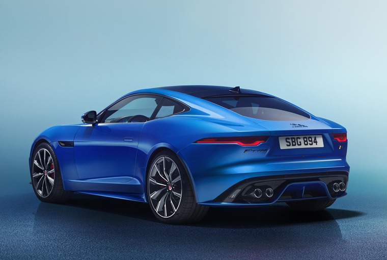 Jaguar F-Type rear