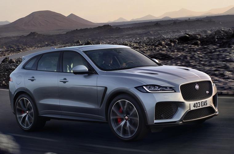 Jaguar FPACE SVR