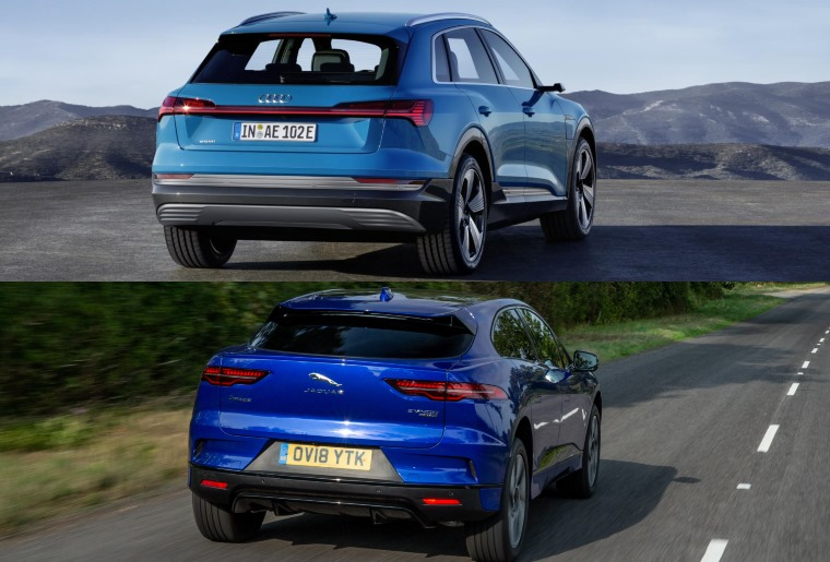 Audi E Tron Vs Jaguar I Pace Electric Suvs Compared Leasing Com