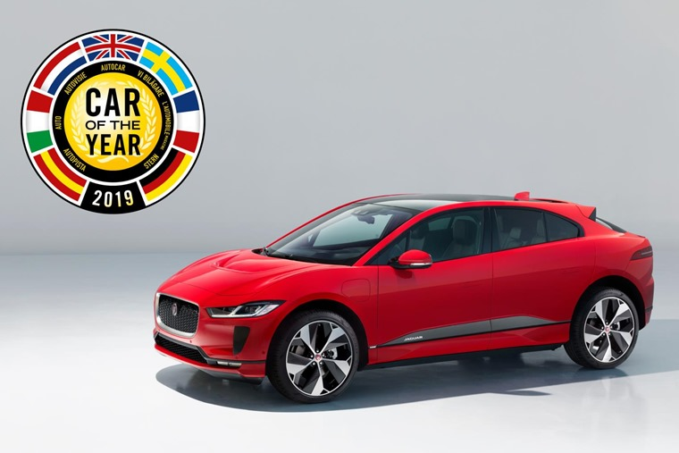 Jaguar I-Pace Car of the Year winner 2019