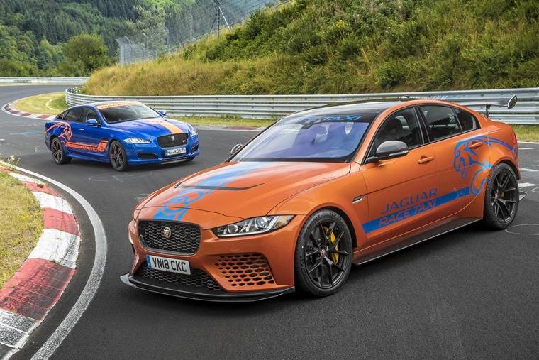 Jaguar XE Project 8 Nurburgring taxi 2