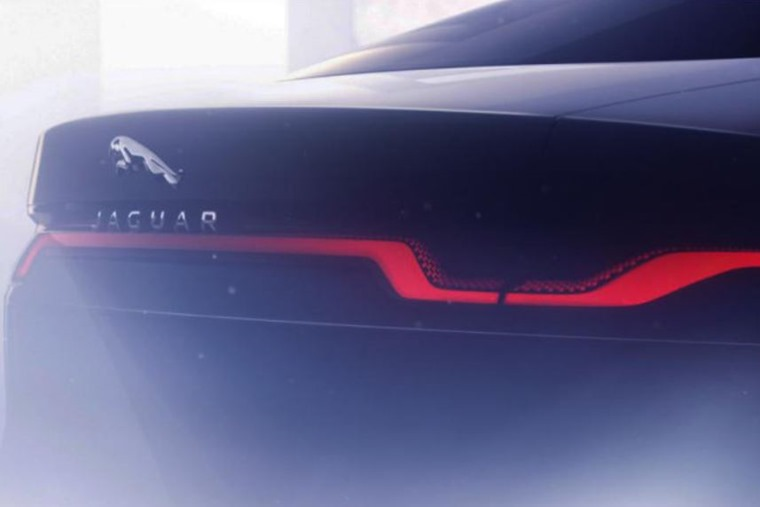 Jaguar XJ electric 2020 teaser