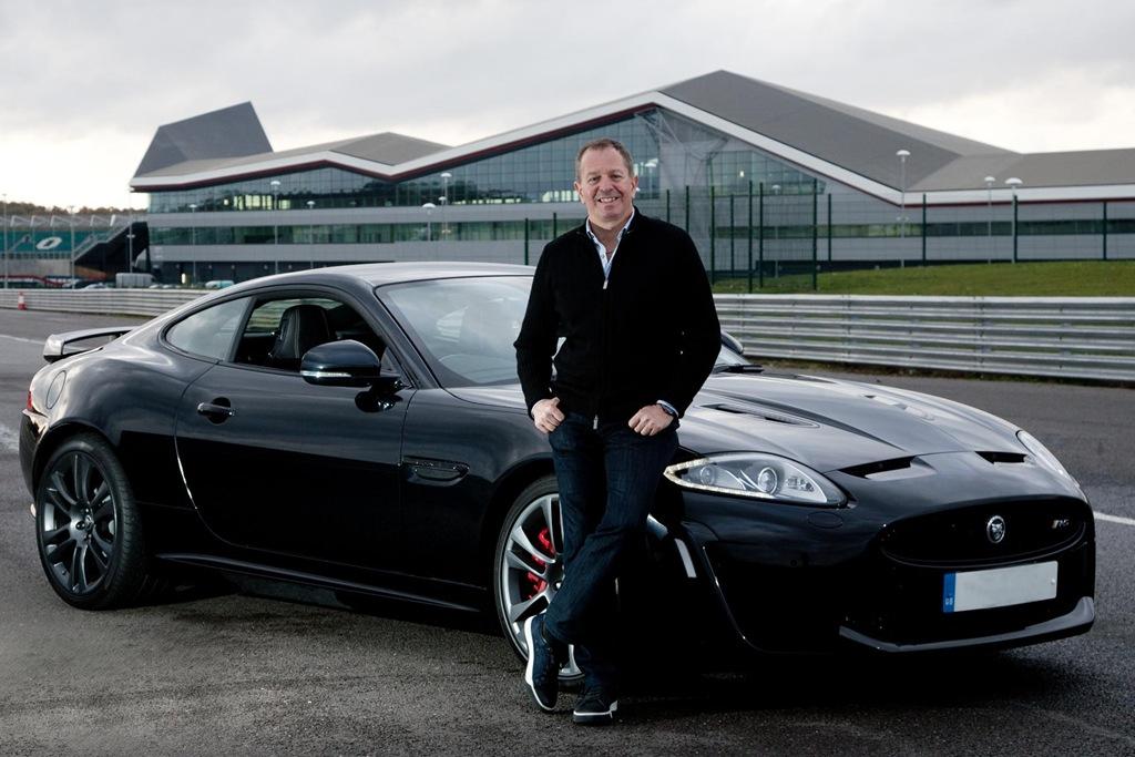 Jaguar XKR S Martin Brundle
