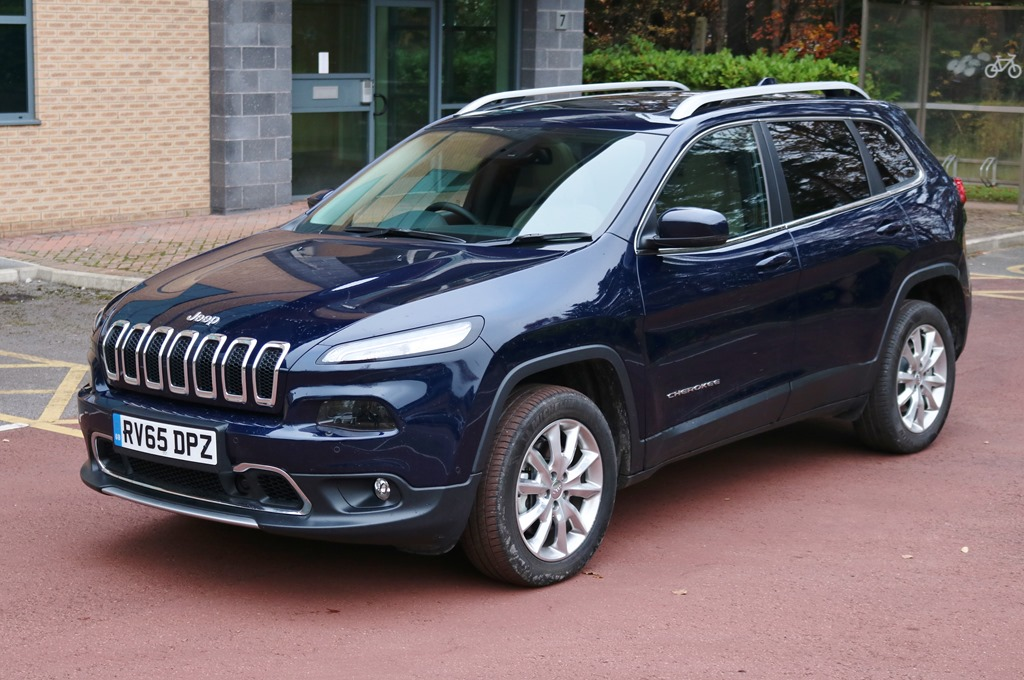 Jeep Cherokee Front Static