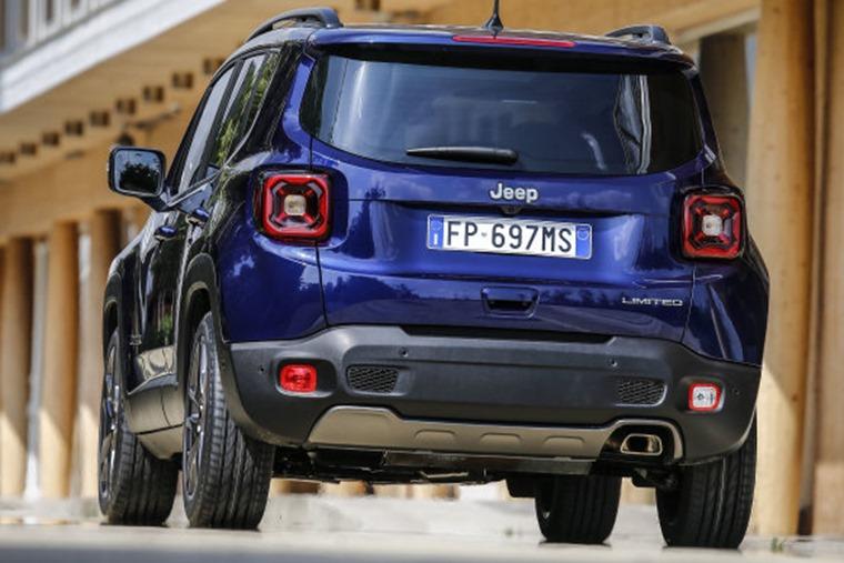 Jeep Renegade 2019 rear
