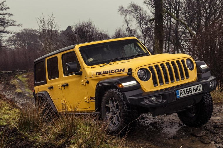 Jeep Wranger 2019 off road