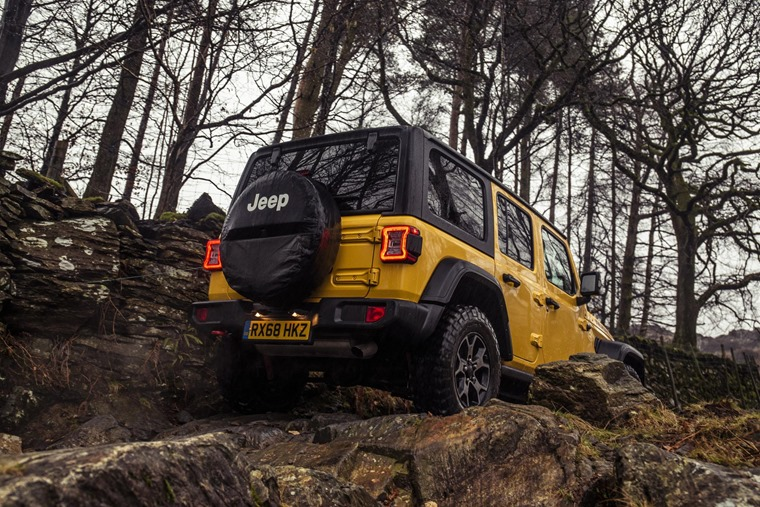 Jeep Wranger 2019 trail