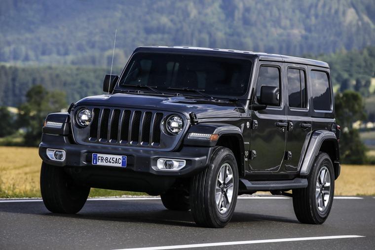 Jeep Wrangler European spec