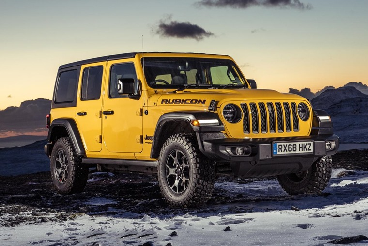 Jeep Wrangler front 2018