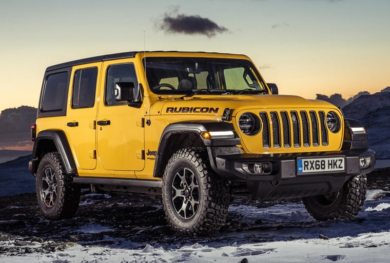 Jeep Wrangler front 2018