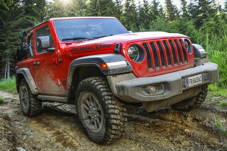 Jeep Wrangler mud