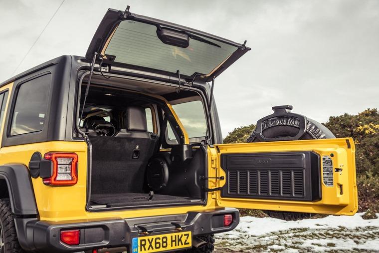 Jeep Wrangler rear 2018