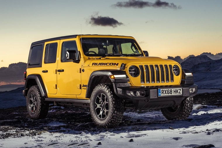 Jeep Wrangler Rubicon styling