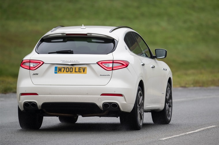 Maserati Levante  Millbrook Proving Ground  Photos Jed Leicester  07967 091226