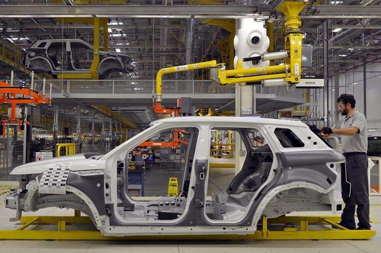Jaguar Land Rover production facility