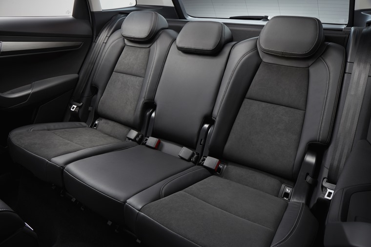 Skoda Karoq rear seats