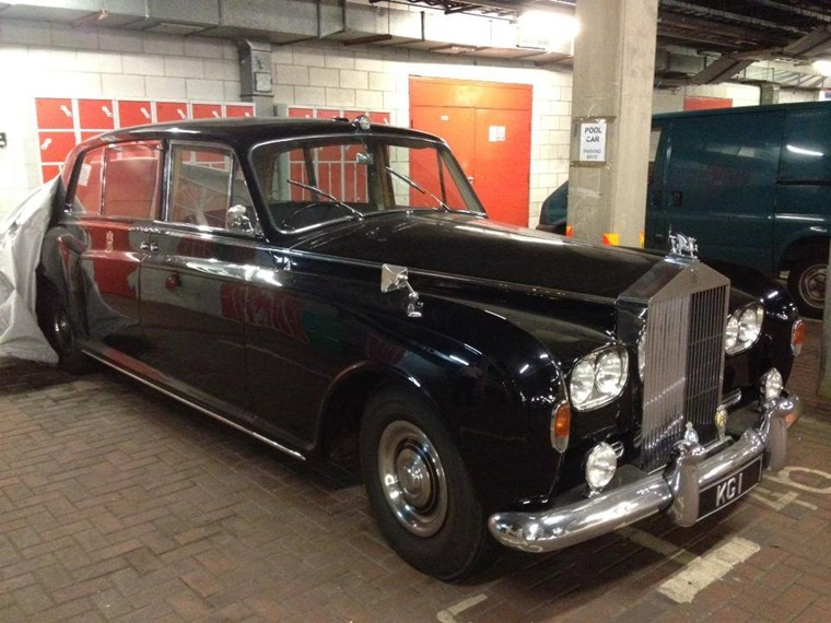 KG1 Cardiff Rolls-Royce (picture source from Cardiff's Rolls Royce KG1 facebook group)