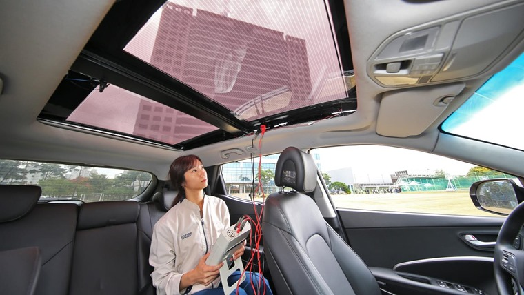 Kia and Hyundai reveal solar charging system technology to power future eco-friendly vehicles_3 (1)