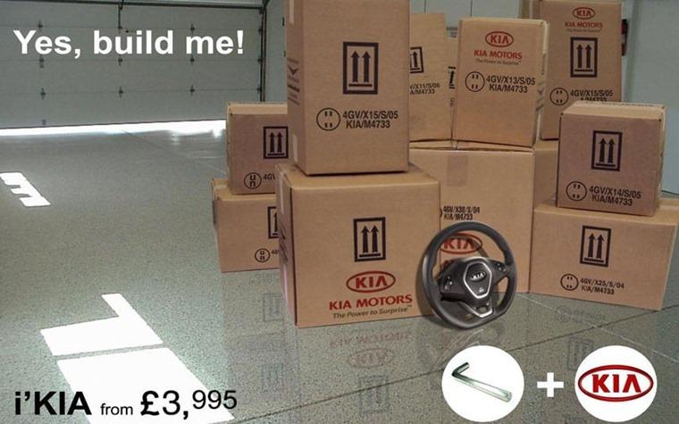 Kia's flat-pack Concept i