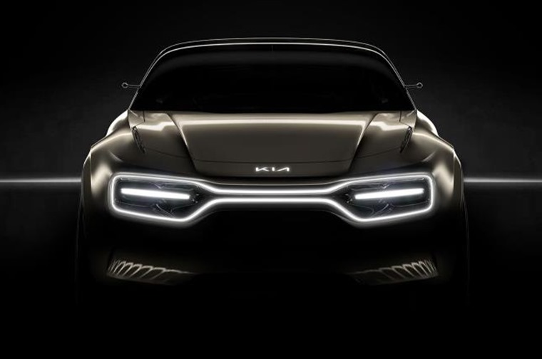 Kia electric concept car