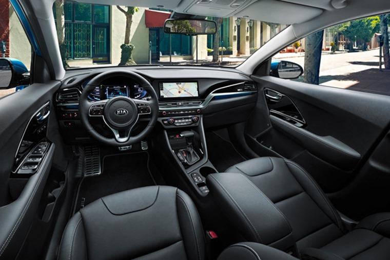 Kia Niro Interior >> Kia Niro Upgraded Hybrid And Plug In Hybrid Prices And