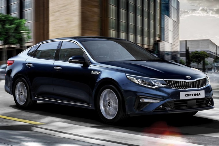 Kia Optima 2018 side