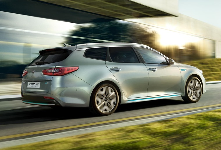 Kia Optima PHEV 2019 rear