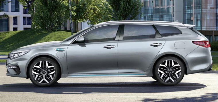 Kia Optima PHEV 2019 side