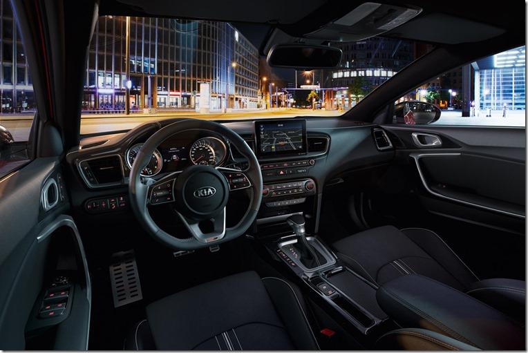 Kia ProCeed 2019 interior