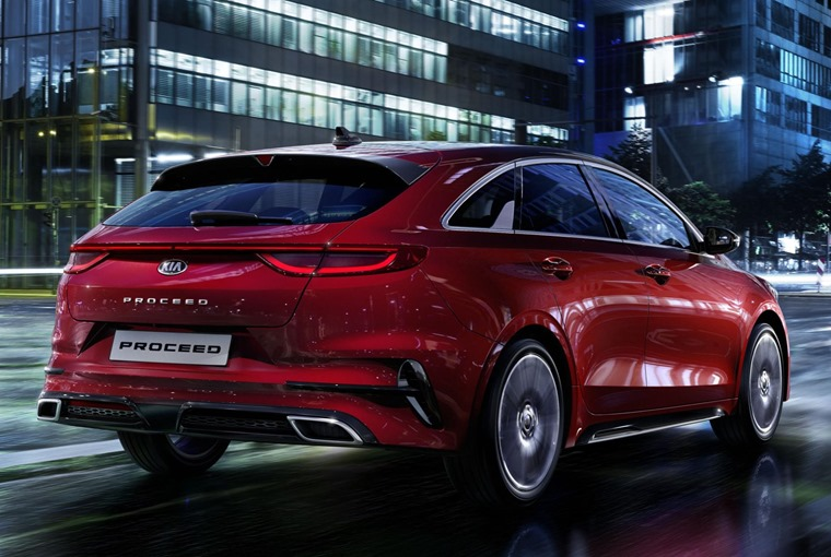 Kia ProCeed 2019 rear