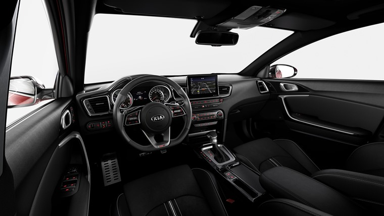 Kia ProCeed interior