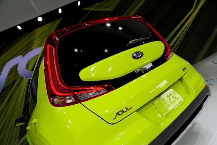 Kia Soul EV 2019 rear light design