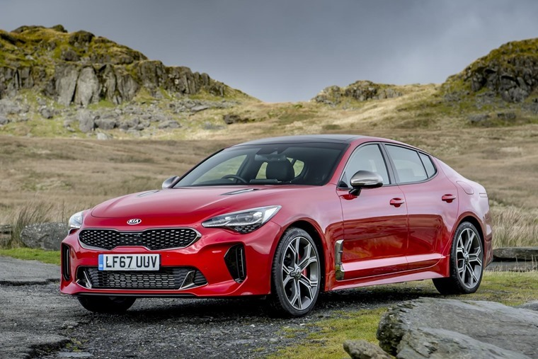 Kia Stinger GTS 18 plate deals