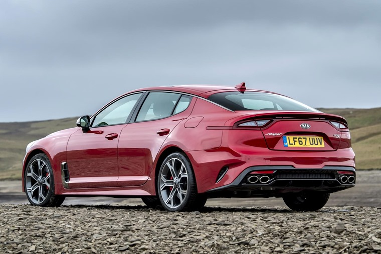 The Stinger is an elegant gran turismo based on the 2011 Kia GT Concept